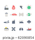 ENVIRONMENT PROBLEMS ICON SET 62090854