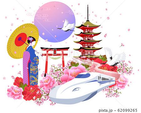 日本イメージ_2 62099265