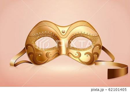 Golden color mask 62101405