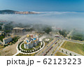 aerial view of the city of Bar under a low cloud 62123223