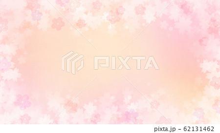 背景-和-和紙-和風-和柄-春-グラデーション-ピンク 62131462