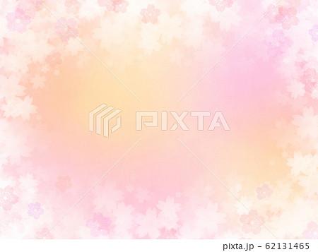 背景-和-和紙-和風-和柄-春-グラデーション-ピンク 62131465