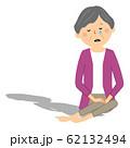 孤独な高齢者 シニア女性 62132494