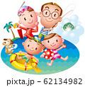 家族で夏リゾート 62134982