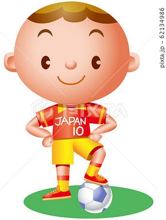 サッカー少年 62134986