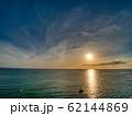 夕日 夕焼け ワイキキ HDR perming 写真素材 62144869