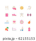 DIET ICON SET 62155153