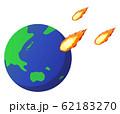 地球と火の粉 62183270