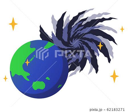 地球とブラックホール 62183271