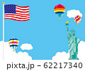 アメリカ イメージイラスト 米国株 62217340
