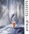 鯉の滝登り 62233970