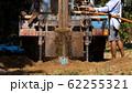 ground drilling water machine on old truck 62255321