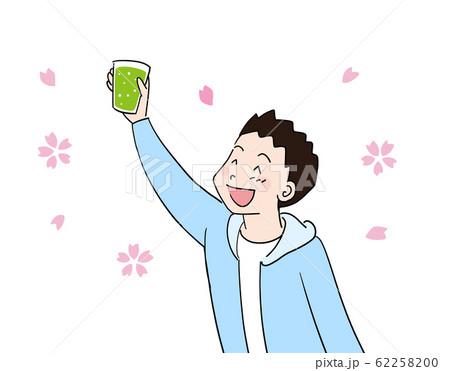 花見学生お茶1 62258200