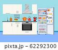 Modern kitchen interior 62292300