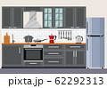 Modern kitchen interior 62292313
