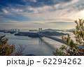 岡山県 鷲羽山展望台からみる瀬戸大橋 62294262