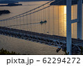 岡山県 鷲羽山展望台からみる瀬戸大橋 62294272