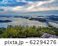 岡山県 鷲羽山展望台からみる瀬戸大橋 62294276