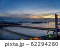 岡山県 鷲羽山展望台からみる瀬戸大橋 62294280
