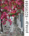 Drawing to the greek town - illustration 62295484