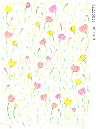 可愛い花模様 62307779