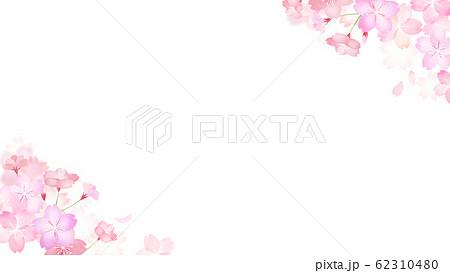 背景-和-和紙-和風-和柄-春-桜 62310480