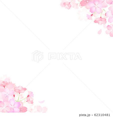 背景-和-和紙-和風-和柄-春-桜 62310481