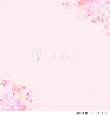 背景-和-和紙-和風-和柄-春-桜 62310485