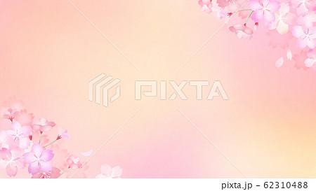 背景-和-和紙-和風-和柄-春-桜 62310488