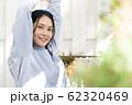 女性 朝 ライフスタイル 62320469
