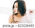 若い女性のヘアスタイルイメージ 62328493
