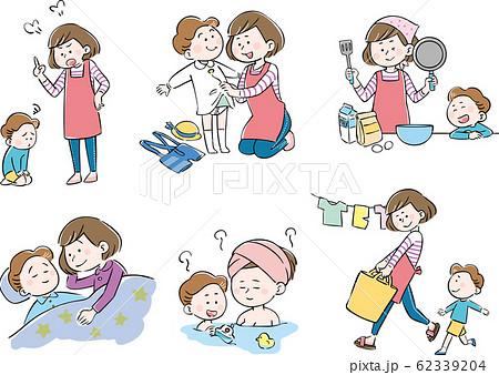 母子 親子 育児 生活 セット 62339204