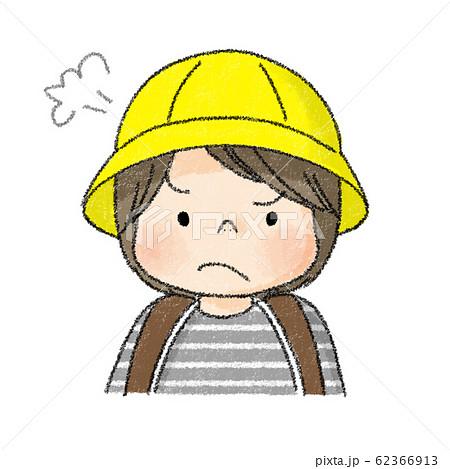 新入生 子供表情 怒り顔(ジェンダーレス) 62366913