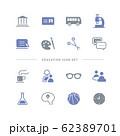 EDUCATION ICON SET 62389701