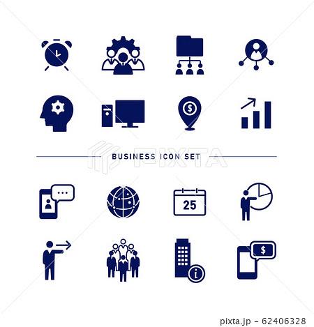 BUSINESS ICON SET 62406328