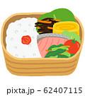曲げわっぱのお弁当 和食 62407115