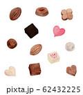 チョコレート 水彩 62432225
