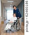 シニアの女性と理学療法士 62460186