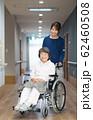 シニアの女性と理学療法士 62460508