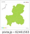 岐阜県の地図・Gifu(市町村・区分け) 62461563