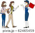 旅行 女性 ガイドさん 62465459