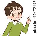 子ども 指差す 62472195