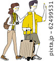 旅行カップル 夫婦 新婚旅行 62499531