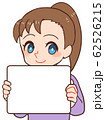 子ども パネル ホワイトボード 62526215