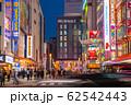 日本の東京都市景観 新型コロナウイルス・中国からの団体観光客の姿が消えた秋葉原駅前=17日 62542443