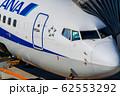 駐機中の飛行機 コックピット 62553292