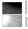 Manga motion speed lines set 62565940