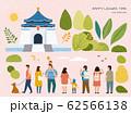 Chiang kai shek memorial hall set 62566138