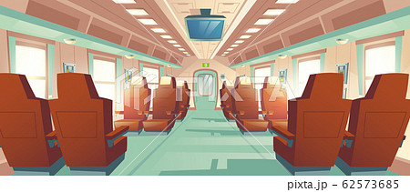 bullet train cabin, express railway carriage 62573685