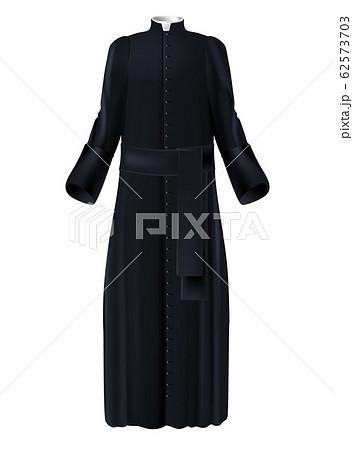 Catholic church priest garment 3d realistic 62573703